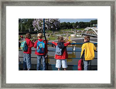 Framed Print featuring the photograph Miniature Playground by Vilas Malankar