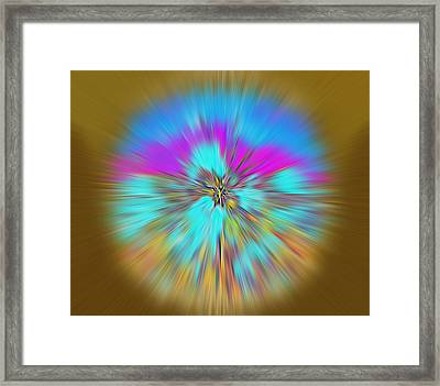 Make A Wish.... Unique Art Collection Framed Print