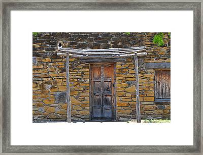 Mission Dwelling Framed Print by Peter  McIntosh