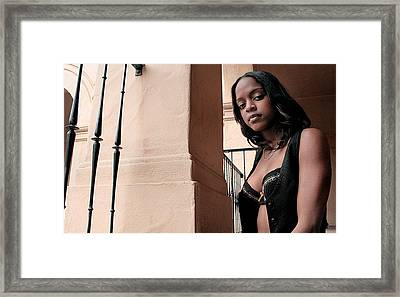 Missmi3ka 4 Framed Print by David Miller
