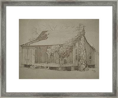 Montgomery County Framed Print by Penny Cash