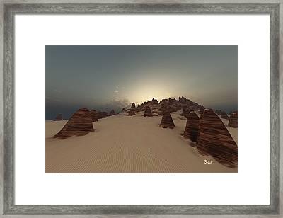Monumental Framed Print by Julie Grace