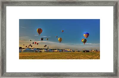 Morning Colors Framed Print by David Hahn