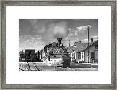 Morning Special Framed Print