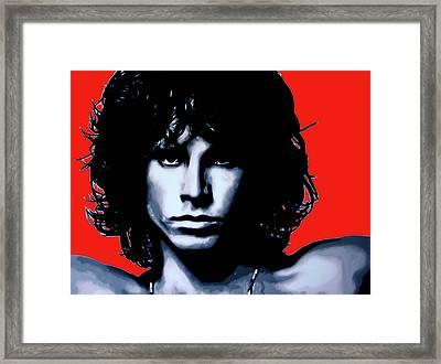 Morrison Framed Print by Luis Ludzska