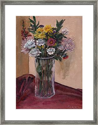 Mother's Day Bouquet Framed Print by Elizabeth Lane