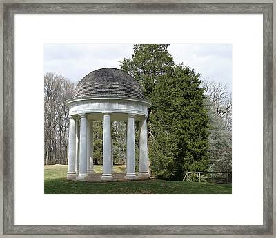Mr. Madison's Temple Framed Print