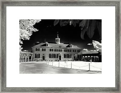 Mt Vernon Framed Print