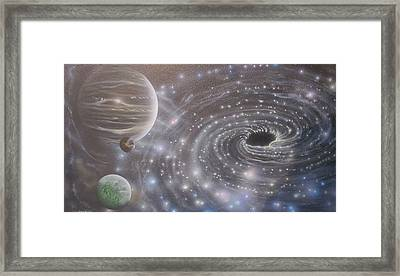 Multiverse 584 Framed Print by Sam Del Russi