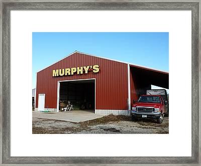 Murphy's Framed Print