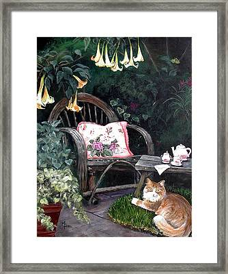 My Secret Garden Framed Print by Mary-Lee Sanders