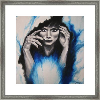Mysterious Framed Print by Jindra Noewi