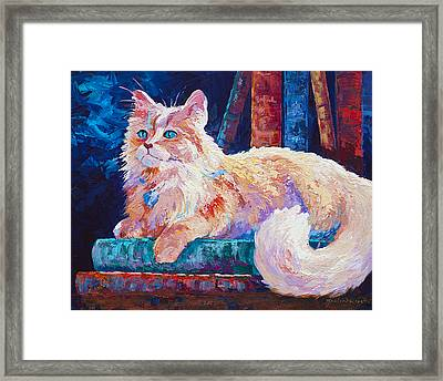 Nietzsche Framed Print by Marion Rose