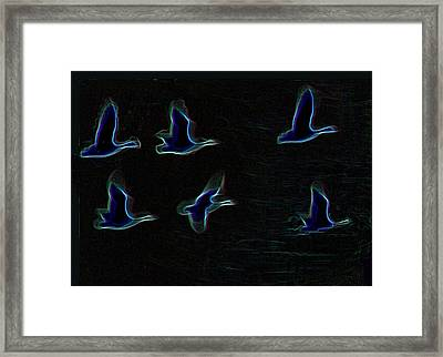 Night Flight 2 Framed Print