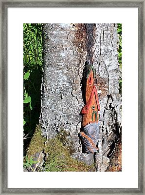 No Place Like Gnome Home II Framed Print by Eric Knowlton