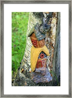 No Place Like Gnome Home IIi Framed Print by Eric Knowlton