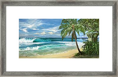 North Shore Framed Print by Lisa Reinhardt