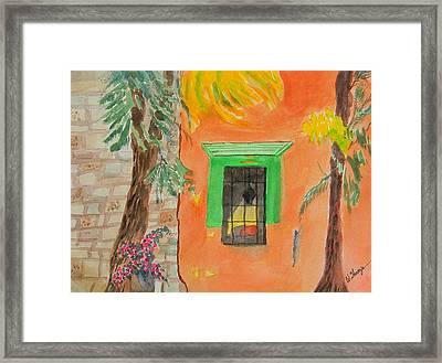 Oaxaca Mexico Church Colors Framed Print by Warren Thompson