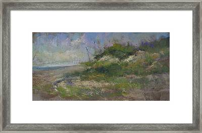 Ocean City Dune Framed Print
