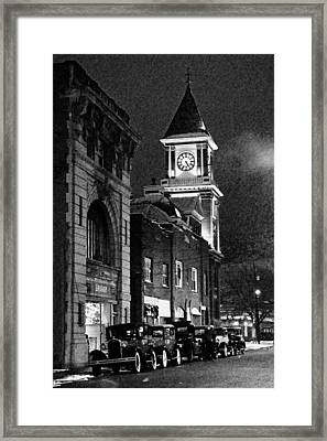 Old City Hall Framed Print by Wade Aiken