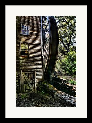 Bale Grist Mill Framed Prints