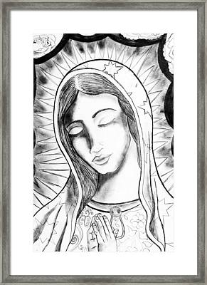 Our Lady Framed Print by Jeffrey Kyker