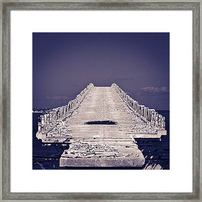 Overseas Railroad II Framed Print