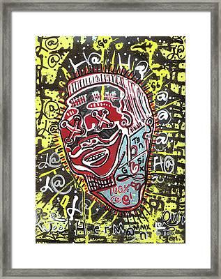 Paging Mr. Herman Framed Print by Robert Wolverton Jr