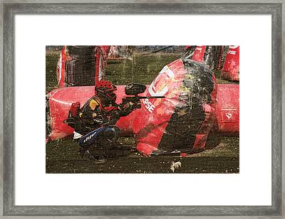 Paintball Framed Print