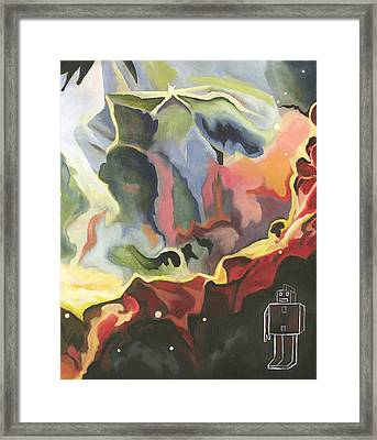 Paranoid Android Framed Print by Cory Rootes