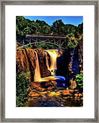 Paterson's Great Falls IIi Framed Print by David Hahn