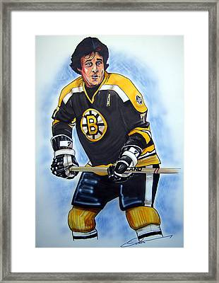 Phil Esposito Framed Print by Dave Olsen