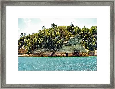 Pictured Rock 6323  Framed Print