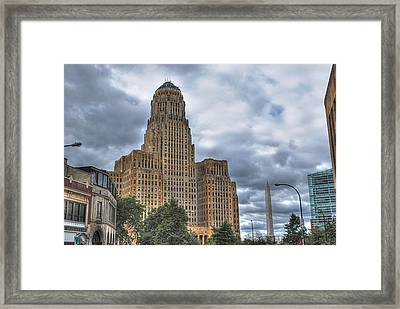 Framed Print featuring the photograph Piercing The Heavens by Michael Frank Jr