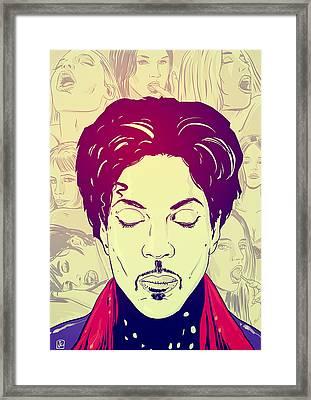 Prince Framed Print by Giuseppe Cristiano