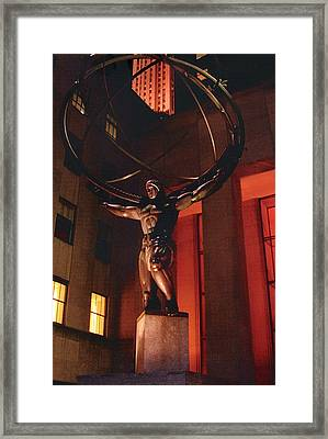 Prometheus At Night Framed Print by Alton  Brothers
