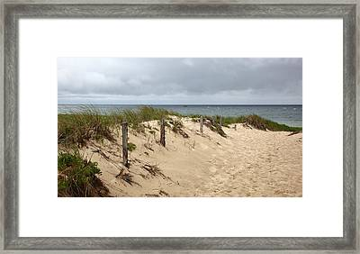 Race Point Beach Provincetown Massachusetts Framed Print by Michelle Wiarda