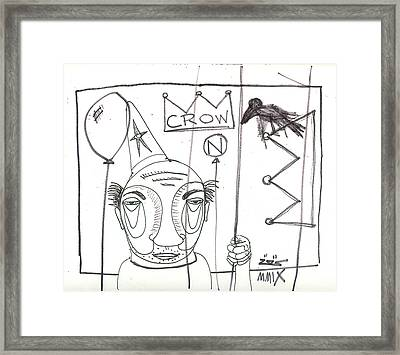 Ready To Go Framed Print by Robert Wolverton Jr