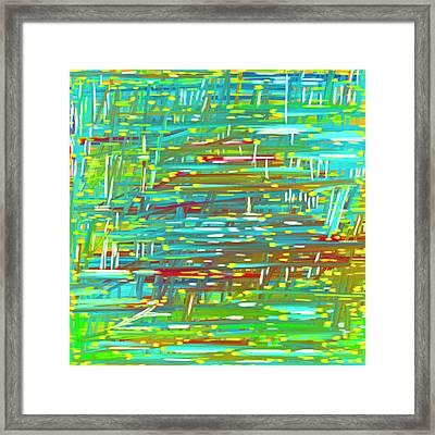 Reedy Pond Framed Print