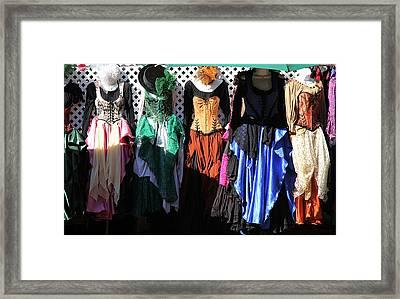 Renaissance Dresses Framed Print