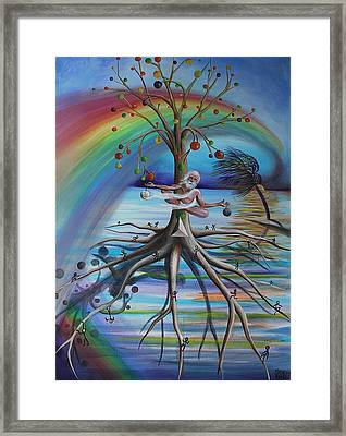 Rising Above Illusion Framed Print