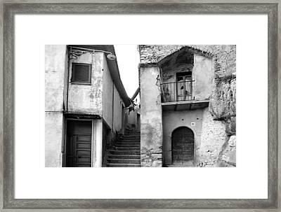 Roccagorga Framed Print by Emanuel Tanjala