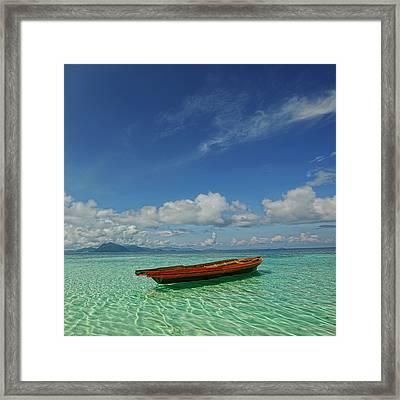 Sabah - Semporna Framed Print