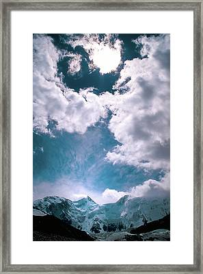 Sacred Belukha Framed Print