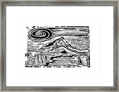 Sailing Framed Print by Adrienne Talbot