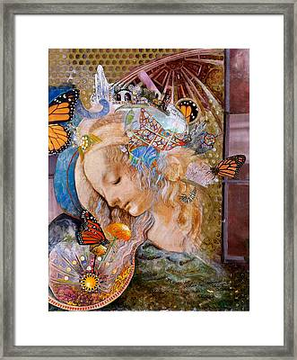 Sanctuary Framed Print by Diane Woods