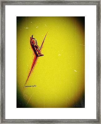 Schizoid Personality Framed Print