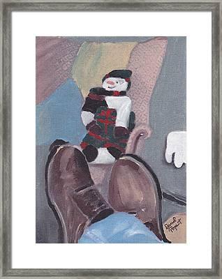 Self Portrait Framed Print by David Poyant