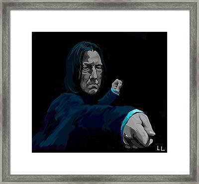 Severus Framed Print by Lisa Leeman