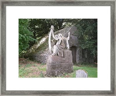 Shane Castle Harpist  Framed Print by Melissa Stinson-Borg